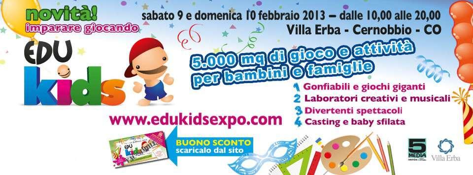 Edukids Expo, due giorni per imparare giocando…e noi ci saremo!