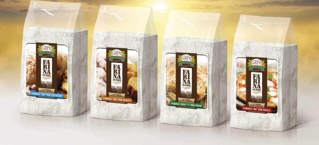 Una farina senza conservanti, senza additivi…