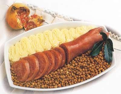 Zampone e lenticchie