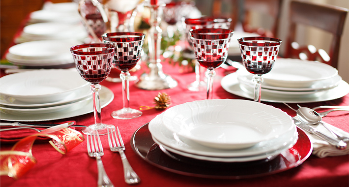 Superstizioni cibimbo - Addobbi natalizi sulla tavola ...
