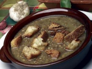 Lenticchia.crostini-Gran Sasso