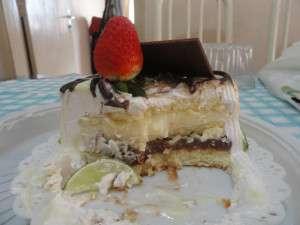 torta con fragola