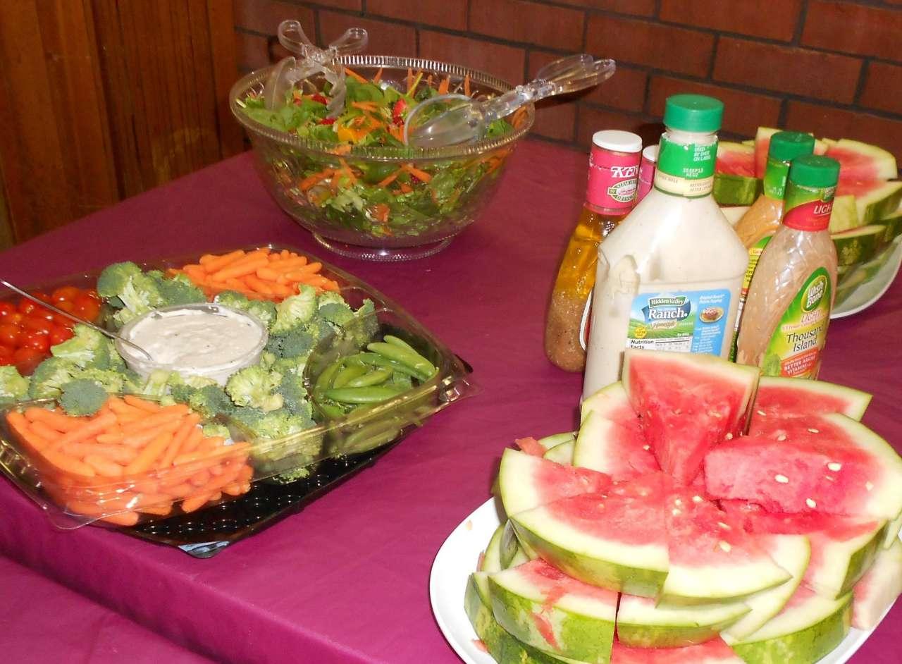 5. Mangia frutta e verdura ad ogni pasto e per un gustoso spuntino!