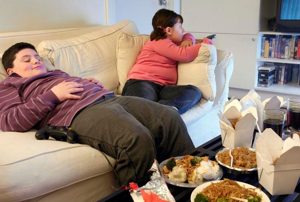 Allarme sanitario per l'obesità infantile
