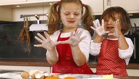 bambine-in-cucina