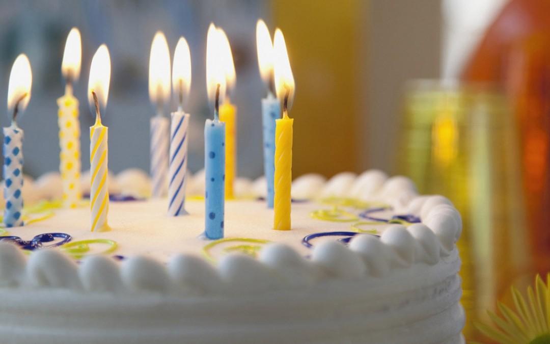 Festa di compleanno, bella, sana e buona