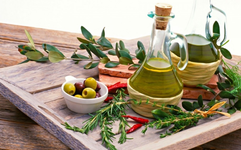 Olio evo: extravergine d'oliva