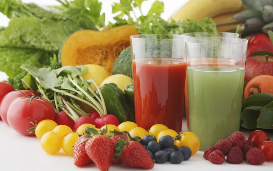Smoothies con frutta e verdura
