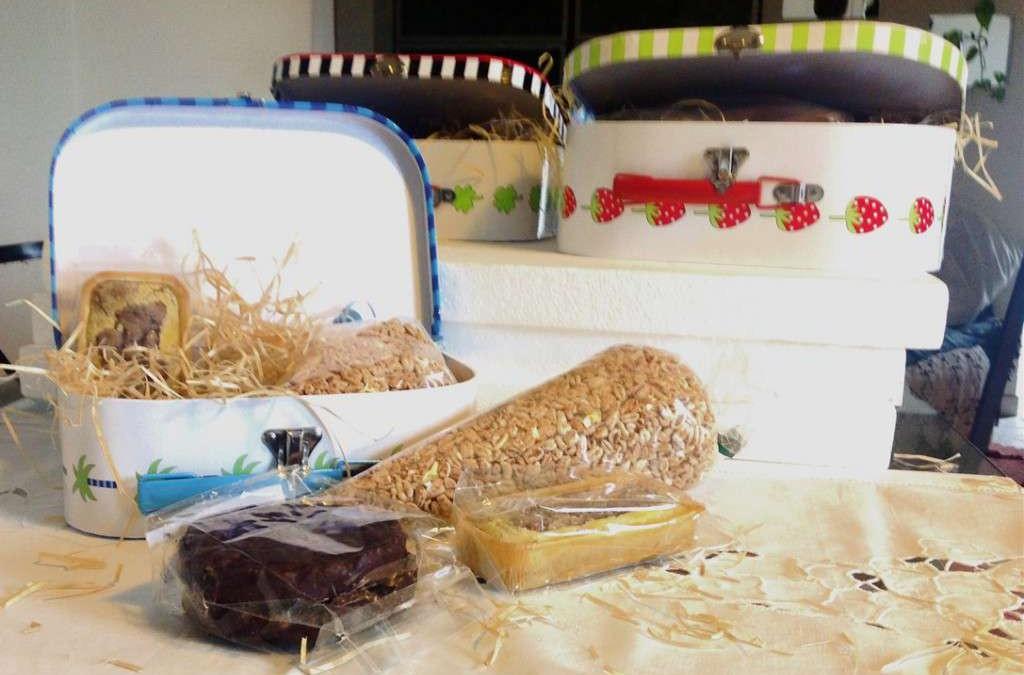 3,00 euro!!!  Si fa colazione e merenda: Farro soffiato, gallette e merendina…