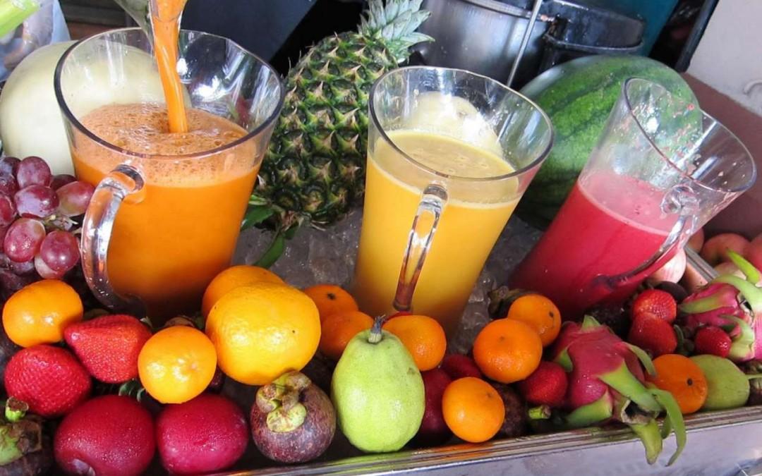 Centrifugati: solo frutta e verdura