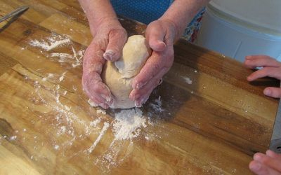 La nonna in cucina